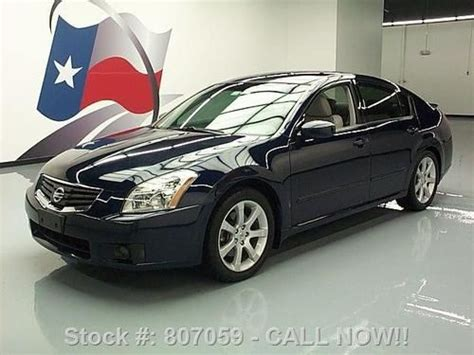 nissan maxima skyview sell used 2008 nissan maxima 3 5 se skyview sunroof