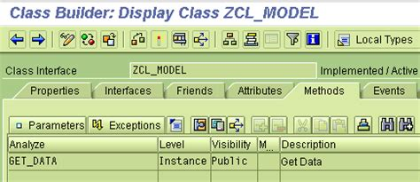 pattern attribute definition abap objects design patterns model view controller mvc