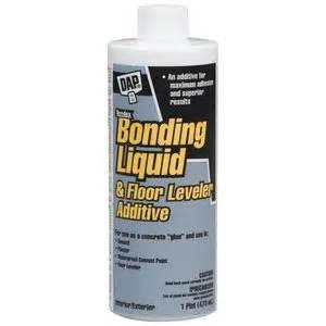 dap concrete bonding liquid floor leveler additive do