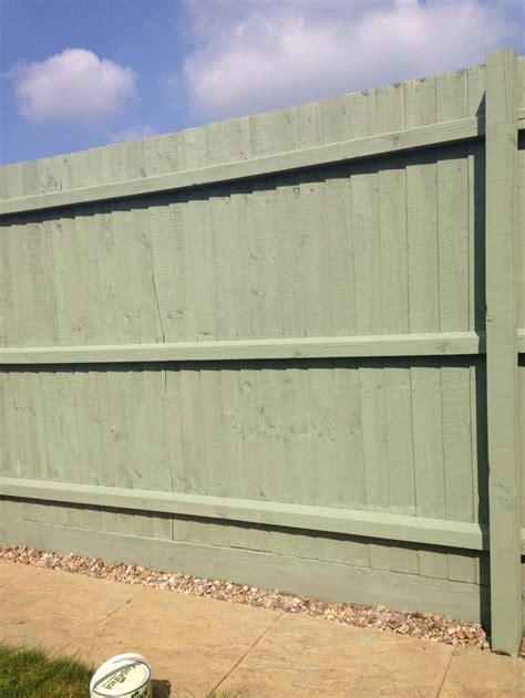 cuprinol shades willow fence paint garden fence