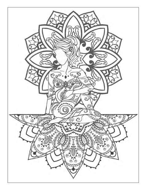 meditative coloring meditation coloring pages sketch coloring page