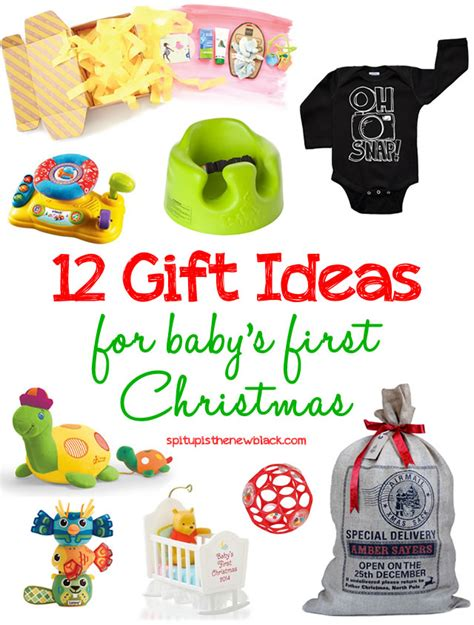 12 gift ideas for baby s first christmas spit up is the