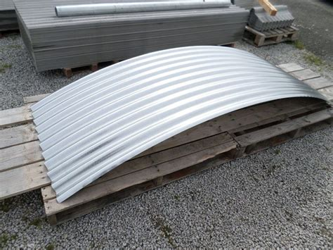 brand new galvanised steel corrugated curved roofing