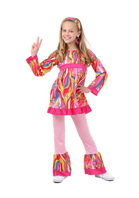 costumes kids costumes kids disco hippie costumes new 2014 costumes child disco top and bell bottoms costume