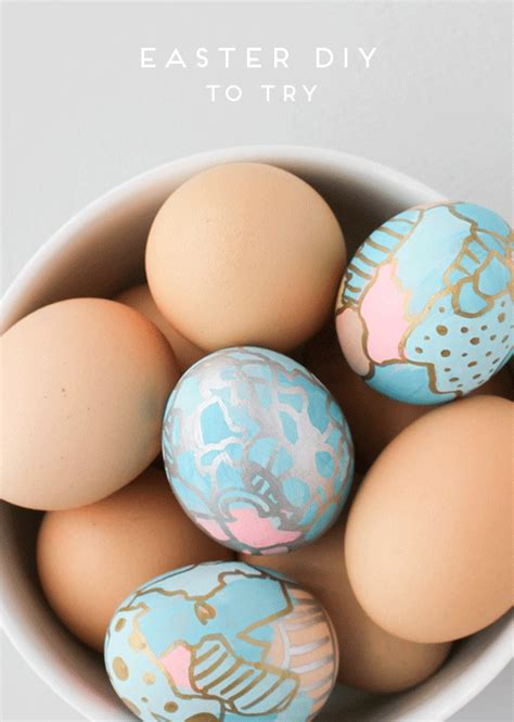20 creative and easy diy easter egg decorating ideas style motivation