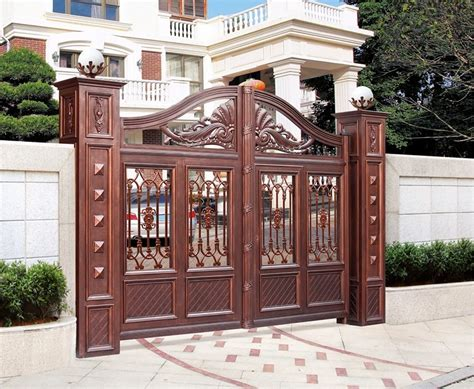 home gate design 2016 lowes powder coated 2016 modern aluminum house main gate