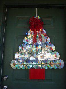 decoraci 243 n navide 241 a con materiales reciclados adornos