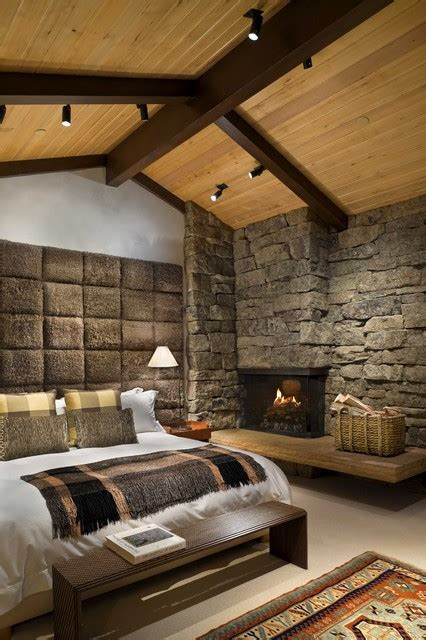 rustic master bedroom decorating ideas master bedroom rustic bedroom by ike kligerman barkley