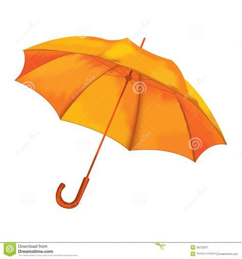umbrella layout vector vector illustration orange umbrella stock image image