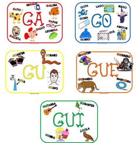 imagenes que empiecen con la letra gu el malet 237 n de qu 237 lez palabras con ga go gu gue gui