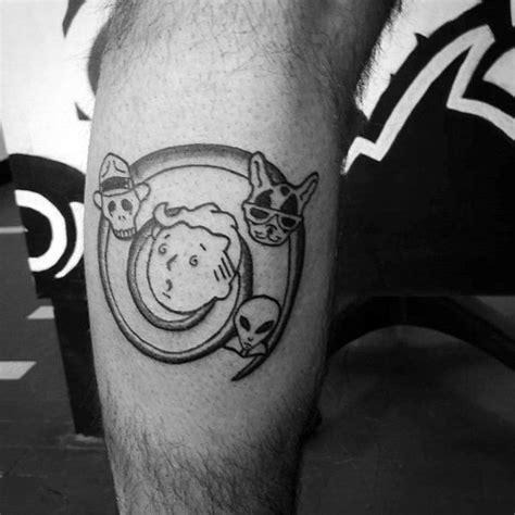 fallout tattoos fantastic fallout tattoos on leg for tattoos