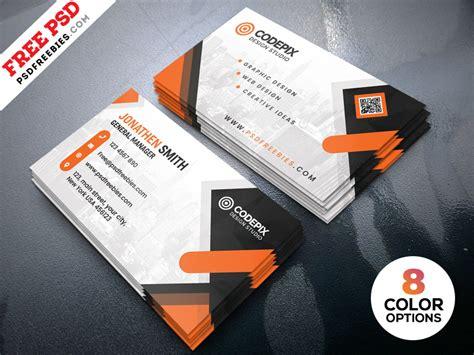 business cards design templates psd psdfreebies