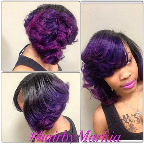 weave hairstyles with purple tips best 25 purple hair tips ideas on pinterest purple tips