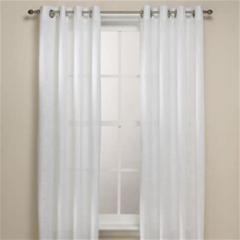 alton solid grommet window curtain panel buy alton solid grommet 108 inch window curtain panel in