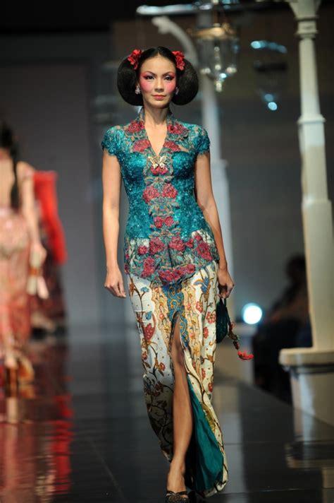 gamis nth putri batik set 3 in 1 designer anne avantie fashion pinterest kebaya