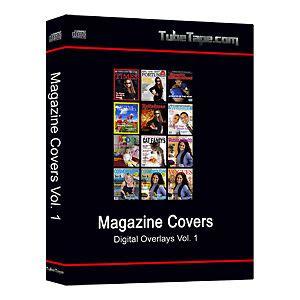 Digital Magazine Cover Overlays Backdrops Templates Ebay Ebay Cover Photo Template