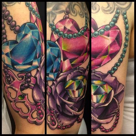 girly rose tattoos by stewart of four aces in aldinga