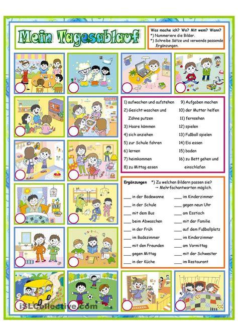 Rechnung Zuordnen Englisch Die 25 Besten Ideen Zu Tagesablauf Kinder Auf