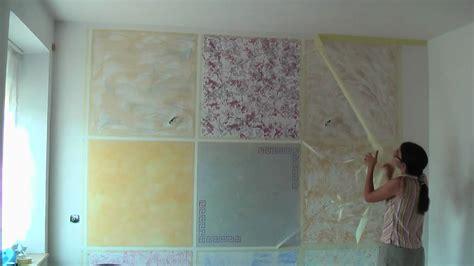 wohnzimmer wand streichen kreative wandgestaltung wischtechnik lasurtechnik
