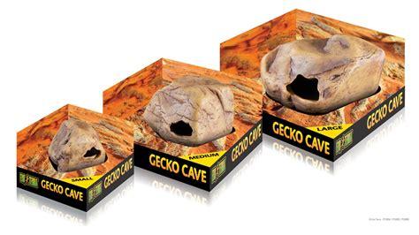 whos hiding gecko press pt2865 exo terra gecko cave medium
