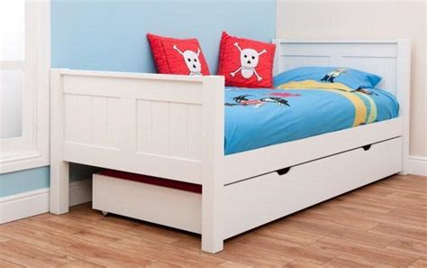 children s beds classic kids single bed white
