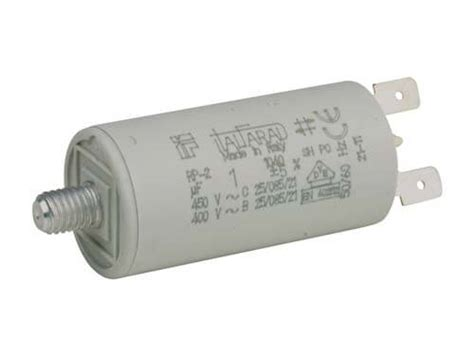 capacitor motor terminals run capacitor faston cof 1 to 6 181 f