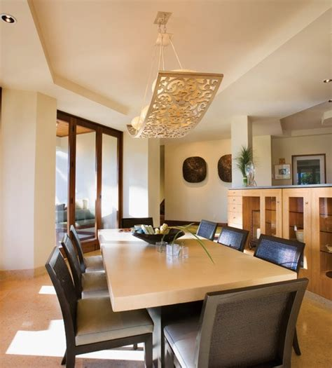 Dining Room Lights Contemporary Corbett Lighting For Contemporary Dining Room Home Interiors