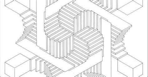 optical illusion coloring page found at http