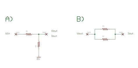 two resistor voltage divider calculating current out of a two resistor voltage divider