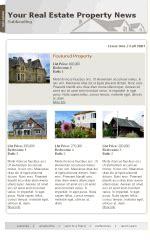 my newsletter builder exles for real estate templates