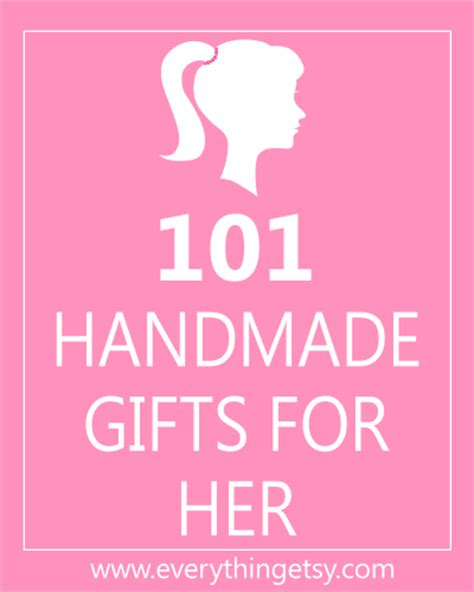 Handmade Presents For - 101 handmade gifts for diy everythingetsy