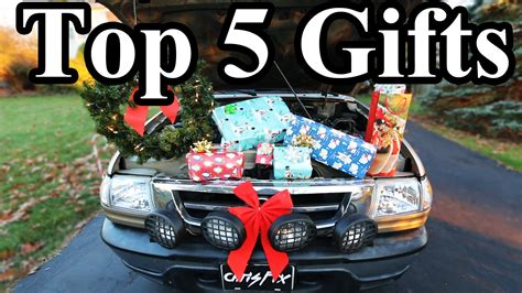 top 5 christmas gift ideas for car guys youtube