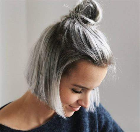 hairstyles for grey hair uk cute hairstyles for short hair you need to try now
