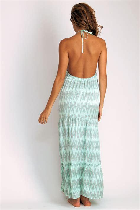 Belini Maxi Dress Ready Mint aila blue