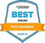 Best Doctoral Programs In Education - the 50 best accredited doctoral phd programs in 2018