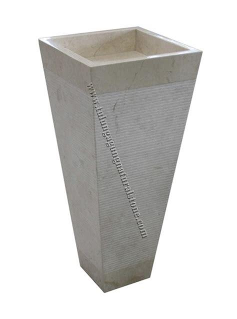 Wastafel Drum Grey pedestal sink marble umywalka marmur wastafel marmer
