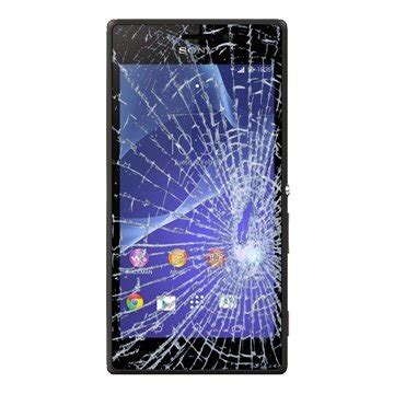 Lcd Frame Sony Xperia M2 Black 1 sony xperia m2 display glass touch screen repair black