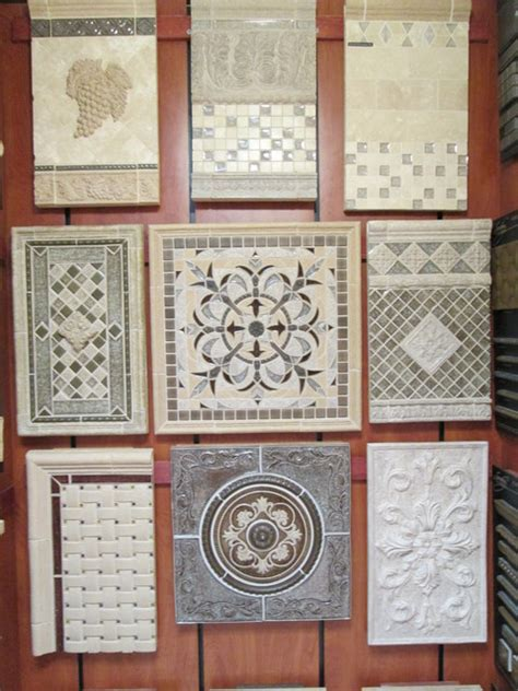 tile medallions for kitchen backsplash sonoma medallions backsplash focal concepts tile new