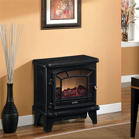 Duraflame Portable Fireplace by Duraflame 550 Black Electric Fireplace Stove Dfs 550 21