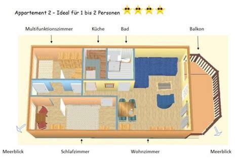 Ankleidezimmer Grundriss by Ferienappartement Hinnerichs Am Sch 246 Nberger Strand Ostsee