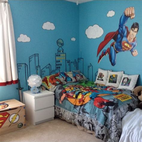 Decorating Ideas For 9 Year Bedroom 25 Unique Superman Bedroom Ideas On