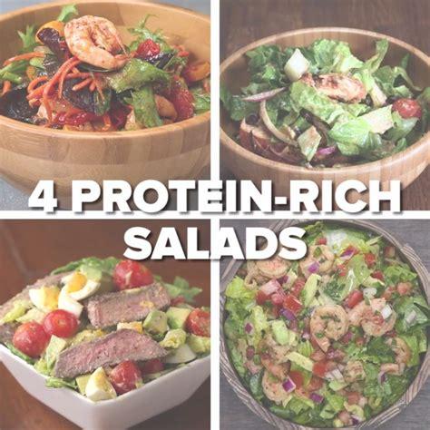 4 protein rich salads best 25 healthy ideas on