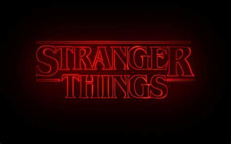 imagenes hd stranger things stranger things im 225 genes stranger things logo fondo de