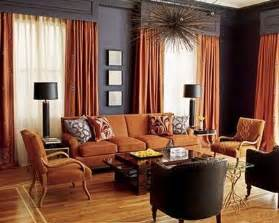 living room in navy and rust for the home juxtapost