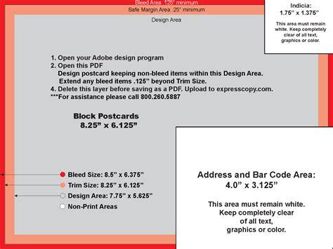 postcard format size postcard specifications postcard postal regulations