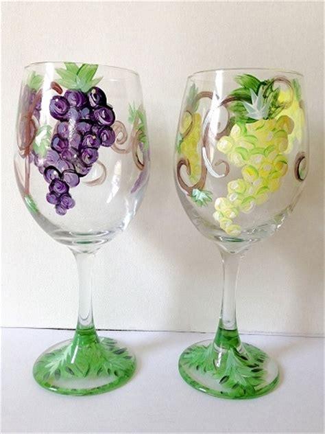 paint nite boston wine glasses paint nite grape vine wine glasses