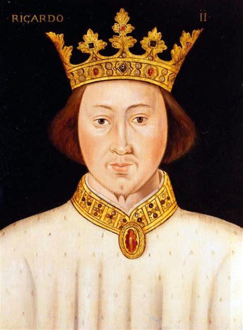 king richard richard ii king of england 1367 1400