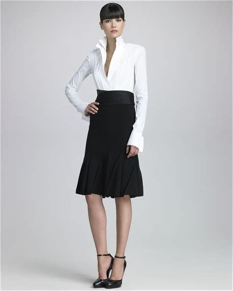 26 best images about pencil skirt satin shirt on