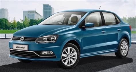 volkswagen car ameo volkswagen ameo a compact sedan for india