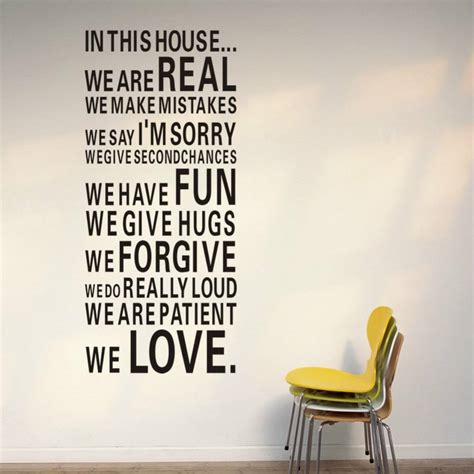 house wall stickers in this house vinyl wall sticker 187 gadget flow